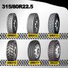 Neumáticos radiales del carro, neumático de los neumáticos 315/80r22.5 para los nombres de compañías