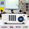 Alta luminosidade do LED Projector de Vídeo na sala de aula