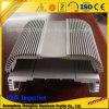 Perfiles de aluminio modificados para requisitos particulares de la construcción del disipador de calor de la protuberancia