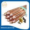 Soudure acier-cuivre inoxidable plaquée de cuivre Rods au sol en acier/terre Rods