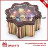 창조적인 별 초콜렛 포장 사탕 금속 주석 상자
