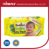 Сторона младенца очищая органические Wipes младенца
