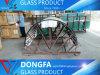 Occhiali di protezione temperati architettonici di vetro/della curvatura di rendimento elevato