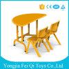 方法単一の学校の教室学生のAdjustbleの机の幼稚園の家具