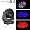 19*15W conduit Moving Head Wash Faire un zoom sur la phase de lumière (BR-1915P)