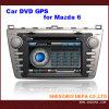 Coche DVD con GPS, función del disco de 6 representaciones visuales para Mazda 6 (HP-MA600L)