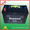 2015hot! Nx120-7 Automotive Battery 12V80ah Korea Car Battery