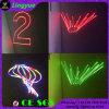 Лазер DMX этапа полного цвета 1W RGB миниый