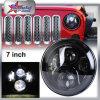 Selbstrunde LED Tagespositionslampe DRL der auto-Beleuchtung-45W 7  für Jeep-Halo, Scheinwerfer PUNKT SAE, Scheinwerfer des Auto-LED für JeepWrangler