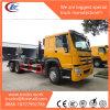 Sino HOWO LHD 15000litersのロールオフのスキップのローダーのごみ収集車