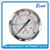 Tipo Calibrar-Normal manómetro da pressão Calibrar-Seca de aço preta