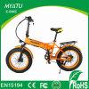 Bici plegable eléctrica ocultada neumáticos grandes de la batería del muchacho/Ebike Fatbike plegable gordo