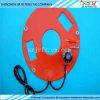 Almofada elétrica elétrica de alta voltagem flexível de silicone