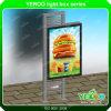 Mupis permanente- Lightbox Stand-Advertising Signage-Ad junta
