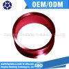 Rot anodisierte kundenspezifischen maschinell bearbeitenteil-Präzision CNC, der die CNC-Teil-maschinelle Bearbeitung maschinell bearbeitet