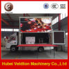 移動式トラックP10屋外LEDの掲示板のトラックの低価格