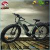 Bici eléctrica de la playa del neumático gordo del marco de la aleación con la visualización del LCD