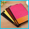 Kontrast-Farben-Selbstschlaf-Leder-Rückseiten-Fall für das iPad PRO
