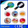 Freier Colorfull Drucken-Kreis-Karten-Feder-Laufwerk-Speicher 2GB