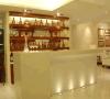 Contador de superfície contínuo acrílico elegante contemporâneo da barra de vinho