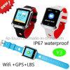 Nuevo GPS Tracker impermeable reloj de seguridad para niños con sos