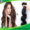 Trama peruviana dei capelli di Remy dei capelli umani del Virgin all'ingrosso di estensione
