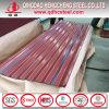 Prepainted波形の鋼鉄屋根ふきシートカラー上塗を施してある屋根のパネル