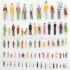 (일반) 100 X Different Scaled Plastic Color Figures