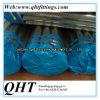 Les extrémités chanfreinées Q195 ERW soudées pré-galvanisé Steel Fence Pipe