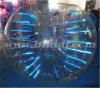 Resplandeciente burbuja TPU fútbol, bola de parachoques con la etiqueta engomada reflexiva D5077