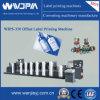 Stampatrice intermittente del contrassegno di stampa offset dell'alimentazione della bobina (WJPS-350)