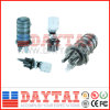 Tipo cúpula 6 - 48 núcleos de empalme de fibra óptica de cierre (DT-FOSC-D8015 el empalme cierre)