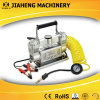 두 배 Cylinder Car Air Pump Car Portable Car Tyre Filling Machine 2015년 New Model 12V Portable Tire Inflator Car Aircompressor
