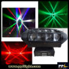 小型のLight Mini 8X10W LED Moving Head Spider Light