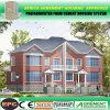 Casa prefabricada de la casa prefabricada del panel de emparedado del cemento de la espuma de la certificación del SGS