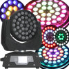 Anello Circle Effect 36*10W RGBW LED Moving Head Light con Zoom Wash