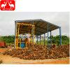 Riga piccola africana di vendita calda della macchina del laminatoio dell'olio di palma (1-5T/H)