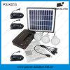 Sistema de iluminación solar del uso casero portable de 4 vatios para Japón