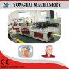 Máquina elástico doble no tejida y plástica disponible de la fabricación neta de pelo