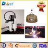 Fabricante 1530 de la cortadora del plasma del CNC de Huayuan 63/100A
