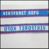 Seide/der gesponnene/Jacquardwebstuhl Satin/flochten Firmenzeichen-kundenspezifische Abzuglinie für Ausstellung