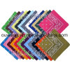 Fashion Promotional Head Wrap Multi-Purpose Custom Printing Pirate Hat Algodão Square Bandana como saco acessório