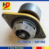 Bomba de água das peças de motor PC200-6 Diesel 6D102