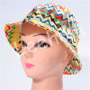 Chapéu da menina da cubeta de Fahison da cópia do Sublimation