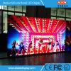 Tablilla de anuncios al aire libre ultra delgada de LED del alquiler P3.91 para la boda