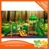 Glissière en plastique de cour de jeu extérieure de gosses de thème de forêt à vendre