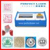 Macchina per incidere di gomma acrilica del laser del CO2 PE-40b