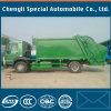 18yards 4X2 Rhd 쓰레기 압축 분쇄기 유형 HOWO Sinotruk 쓰레기 트럭