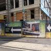 معياريّة خارجيّة يعلن راية طباعة بناية فينيل لفاف شبكة راية