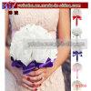 結婚式のローズの水晶人工的な花嫁の花束の新婦付添人の結婚式の装飾(W1059)